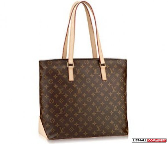 hot sell!!louis Vuitton Monogram Canvas Cabas Mezzo M51151