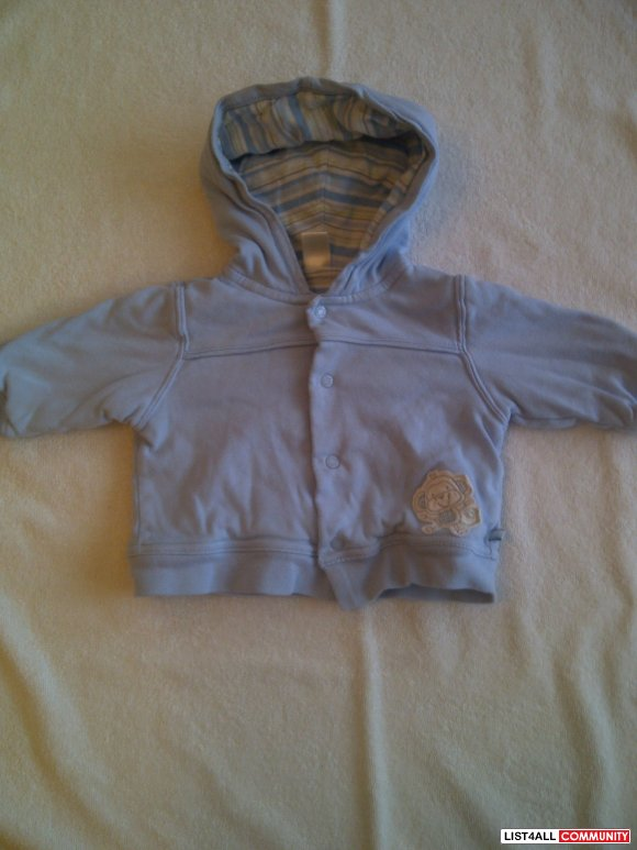 The Children's Place Light Blue Sweater- Boys Size 6-9M