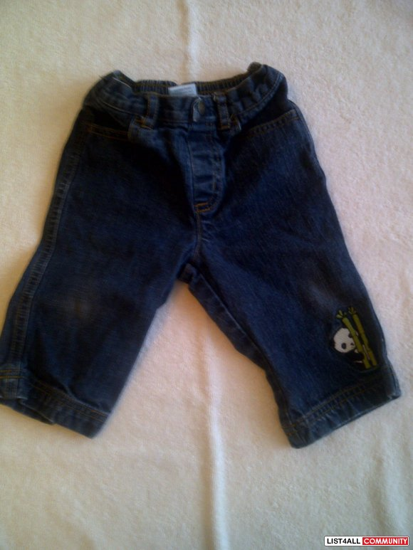REDUCED- Gymboree Jeans- Boys size 6- 12M