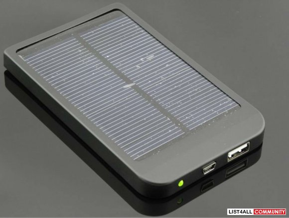 Fs: Solar travel mobile power