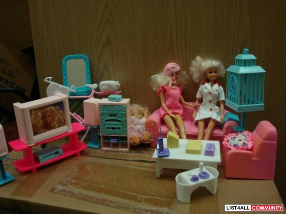 Barbie house collection