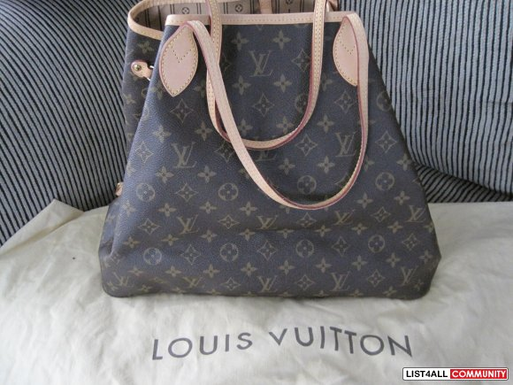 Authentic Louis Vuitton Neverfull GM Monogram- SOLD