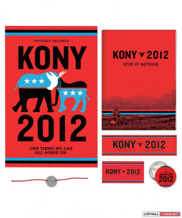 KONY 2012 ACTION KIT [[SALE $5]]