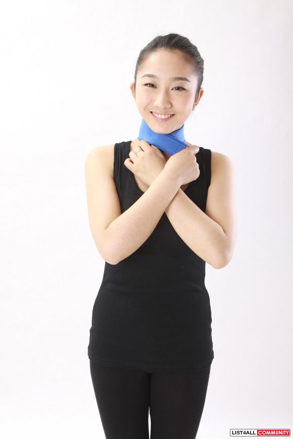 Neoprene Bio Magnetic Therapy NECK WRAP