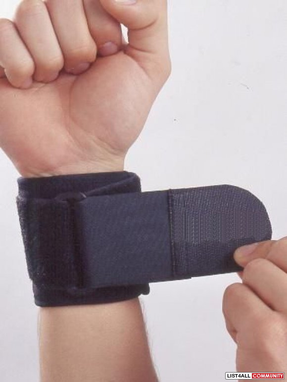 Neoprene Wrist Support Velcro Support Pain Injury Relief