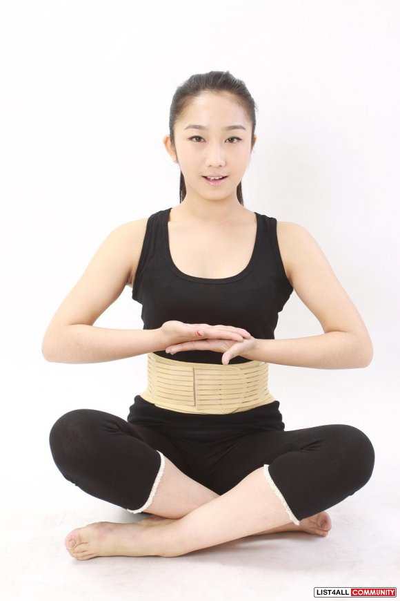 Self-heating Magnetic Lumbar Support Belt Back Ache Pain Relief