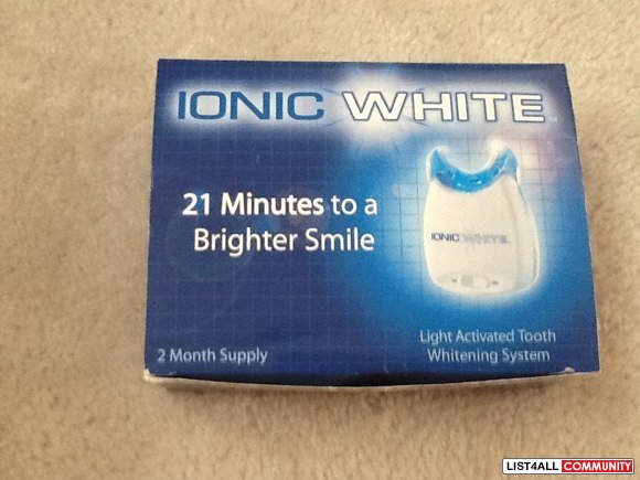 IONIC WHITE --as seen on TV