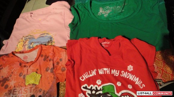 Girl Clothes Size 10-12 y