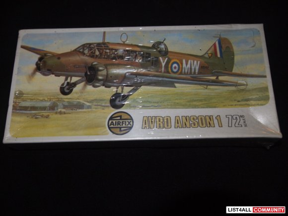 AIRFIX AVRO ANSON 1/72 KIT SERIES 2 MADE IN ENGLAND