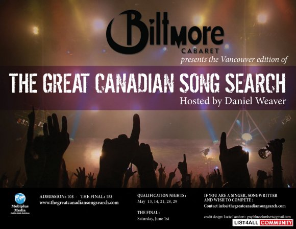 Great Canadian Song Search
