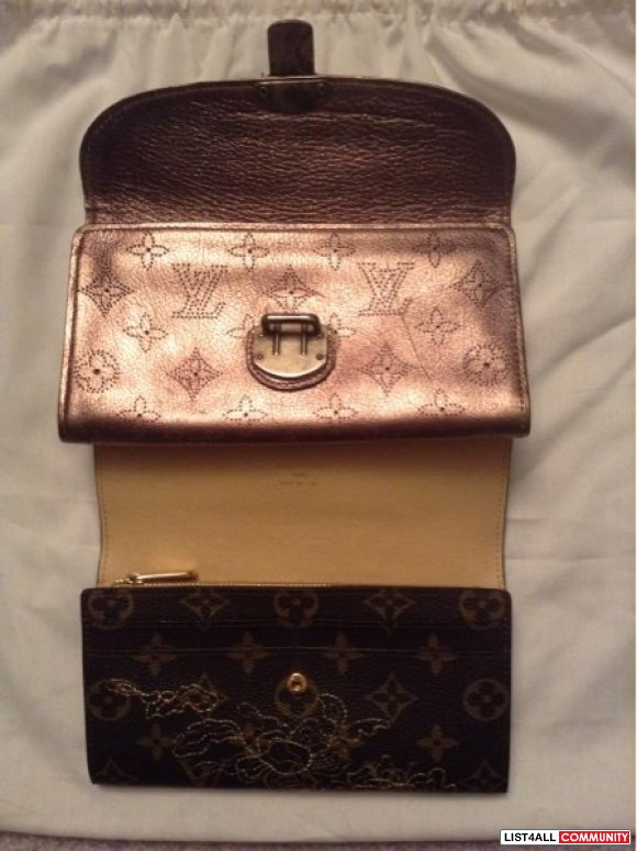 Louis Vuitton Limited Edition Rare Wallets Replica Real Leather