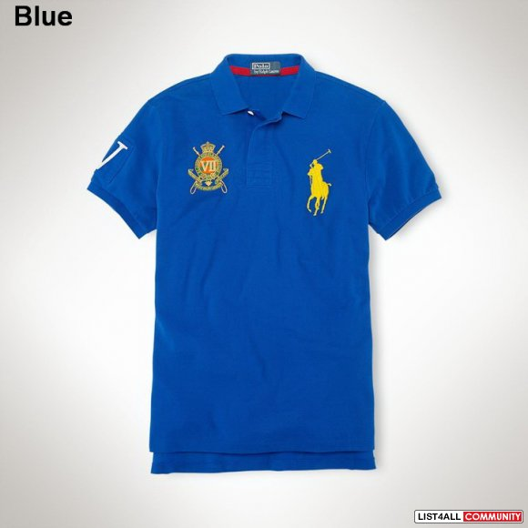 Ralph Lauren Men Custom-Fit Big Pony Crest Polo UK Shop