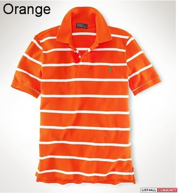 Ralph Lauren Men Classic-Fit Striped Polo UK Outlet Online