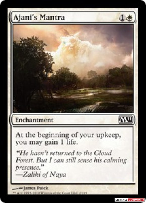 M11 4x Common Uncommon Cards Magic The Gathering MTG Commander