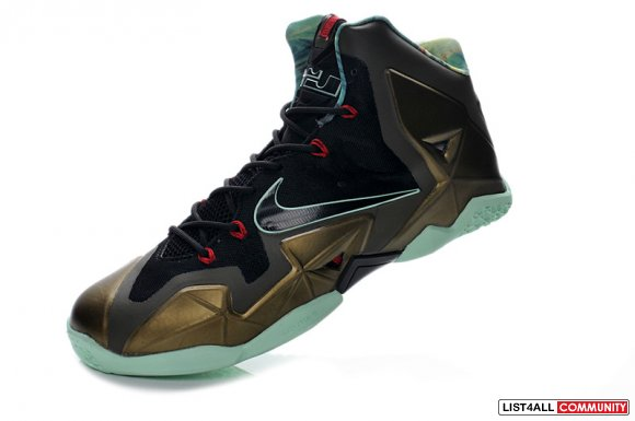 Cheap LeBron 11 Parachute Gold Kings Pride www.11lebron.com