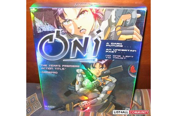 ONI computer game for the PC