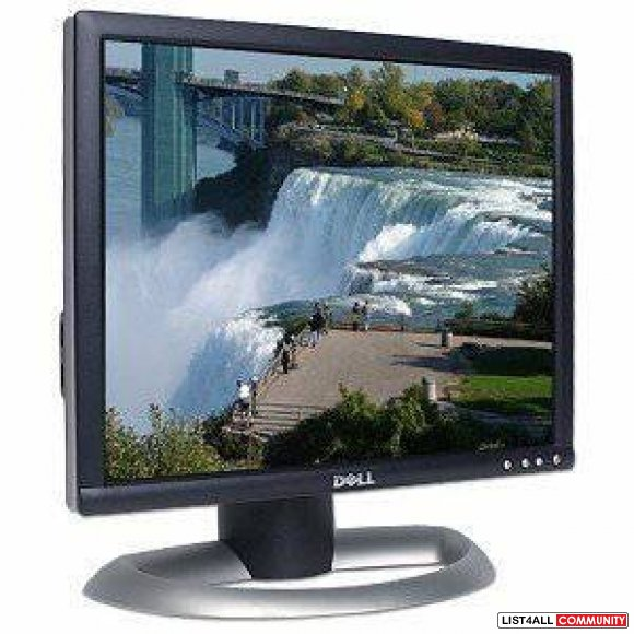 "IBM/Dell/Samsung 17"" LCD Flat Panel Screen Monitors"