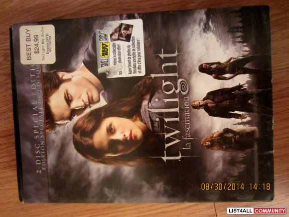 Twilight Special Edition DVD Set