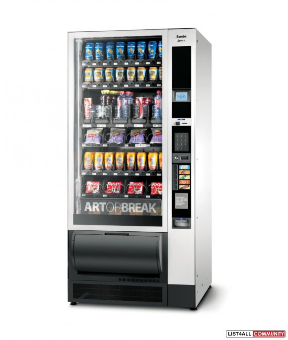 Get User-Friendly Touch Screen Vending Machines