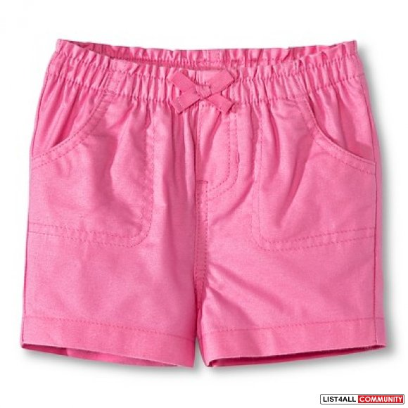 Circo Shorts - Solid Pink - 12 months - new