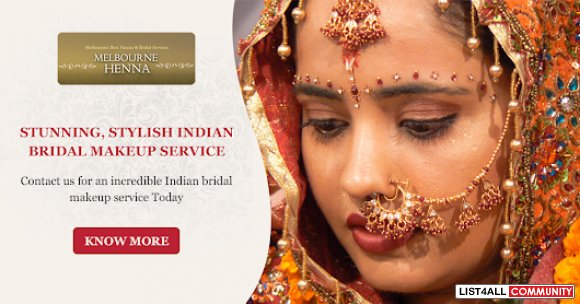 A Complete Indian Bridal Makeup Service in Melbourne