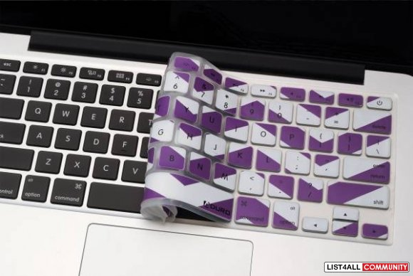 ADURO Keyboard SKINZ Protector for MacBook Pro & Air (Pack of 2)