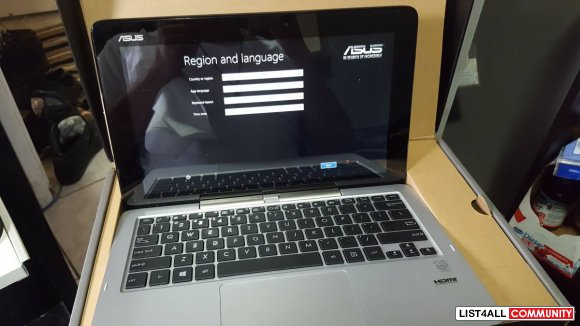 (BRAND NEW - IN BOX) Asus Transformer Book T200T. TOUCHSCREEN! 2 IN 1!