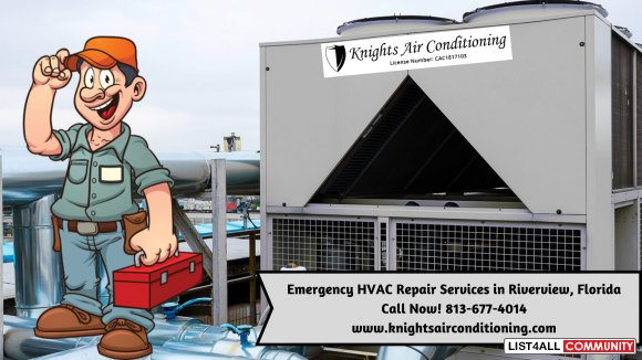 Emergency HVAC Repair Service Provider in Riverview Florida