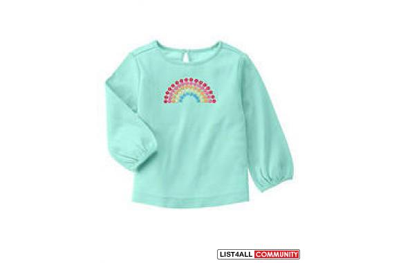 Gymboree Spring 6 piece Rainbow Lot- Price is for the whole lot,