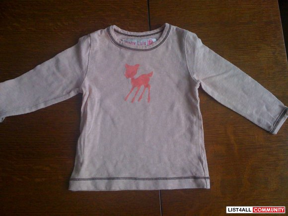Baby Lulu Deer Top