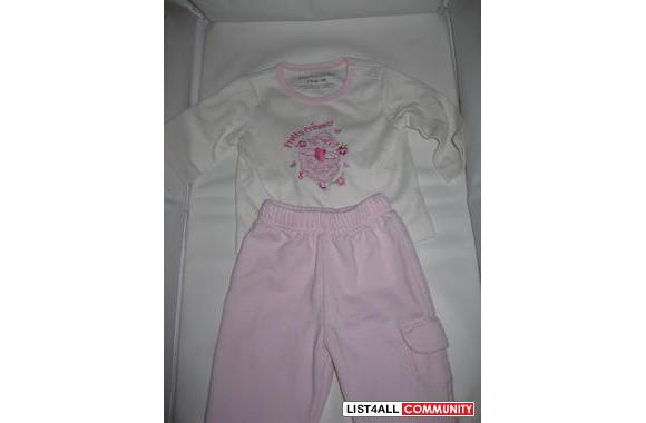 Love'n Cuddles outfit, 3M (13 lb), cute & warm for Spring, shows w