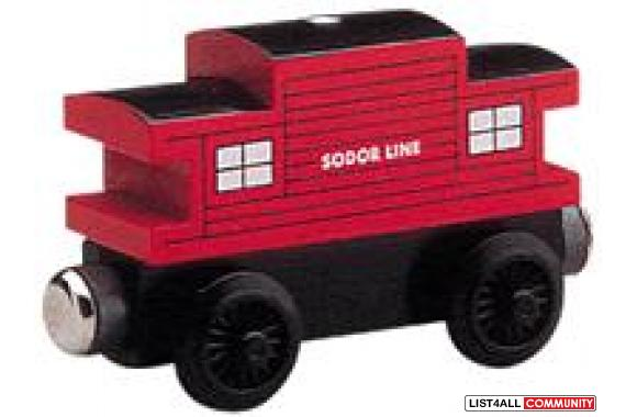 99050 Thomas & Friends Wooden Railway Sodor Line Caboose