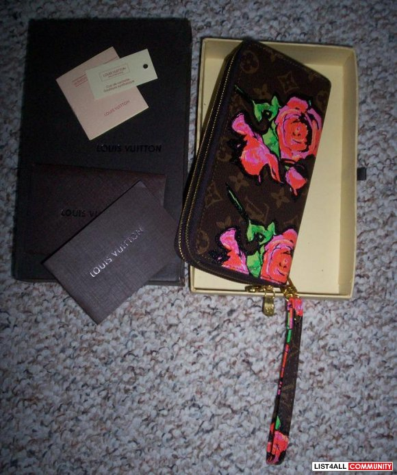 ***Louis Vuitton Rose Wallet***