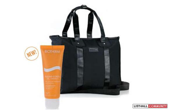 Recently, The Bay was having a Biotherm gift with purchase which just