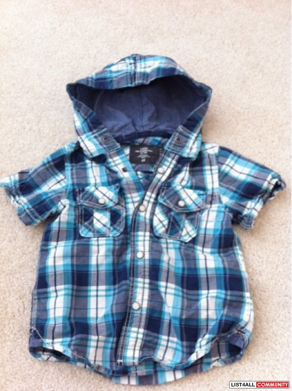 Toddler boys shirt from h&m size 2/3