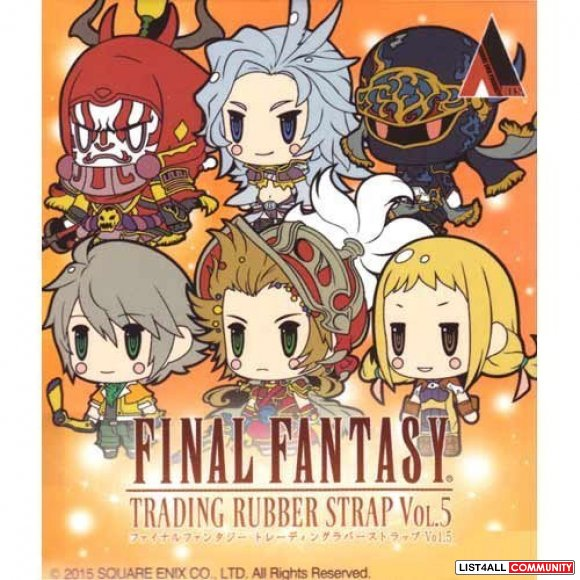 Brand New Final Fantasy Trading Rubber Strap Vol.5 Hope Estheim