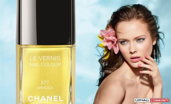 Chanel Nail Polish in Mimosa - Discontinued #577