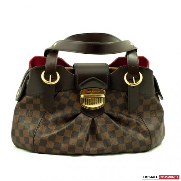 Authentic Louis Vuitton Damier Canvas Sistina PM