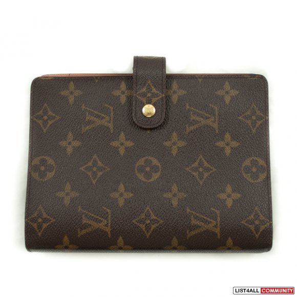 Authentic Louis Vuitton Monogram Agenda Cover MM