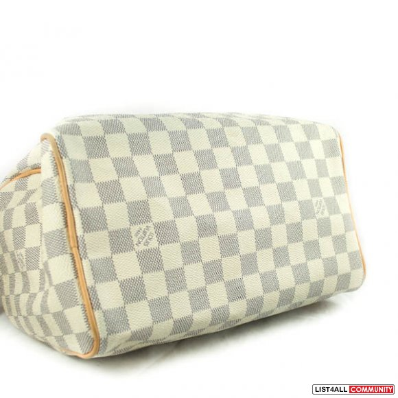 Authentic Louis Vuitton Damier Azur Speedy 25