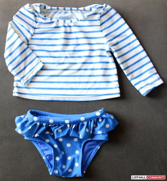 BabyGap Two Piece Swimsuit Tankini (size 6-12 months)