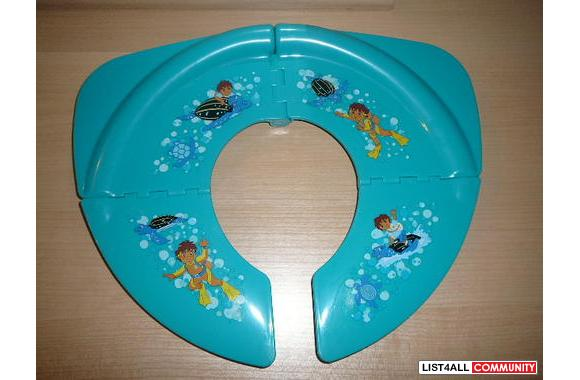 DIEGO *** FOLDING POTTY SEAT If your child loves Diego, then this is t
