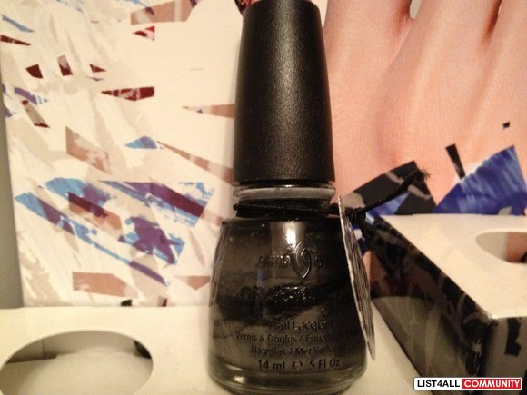 Brand new China Glaze nail polish - Crackle