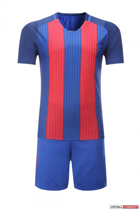 Football Jersey Sets and Shorts Sleeve Training Suit Clothes Set