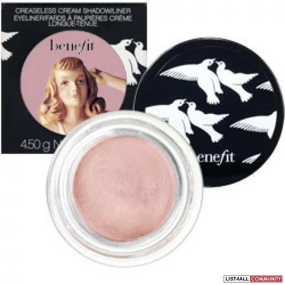 BENEFIT Creaseless Cream Shadow - RSVP (Sparkling Champange)