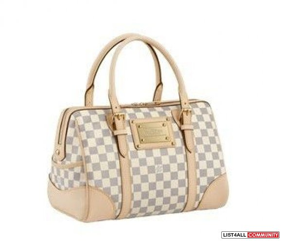 White LV Damier Bag