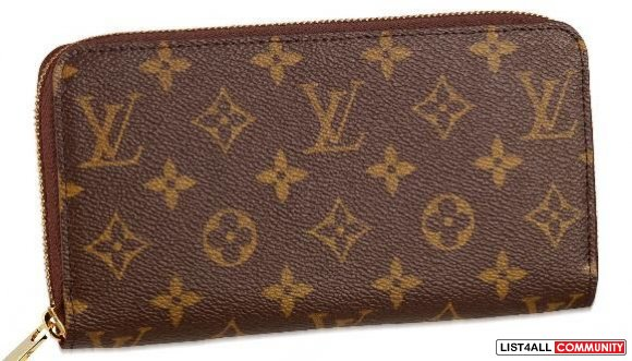 Louis Vuitton Monogram Zippy Wallet replica