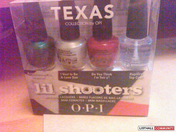 opi texas mini collection