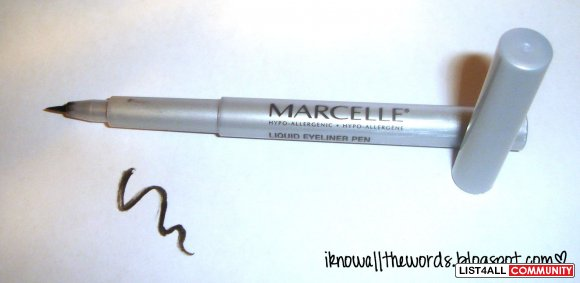 Marcelle - Liquid Eyeliner Pen in Very Black (retail $10) REDUCED $5
