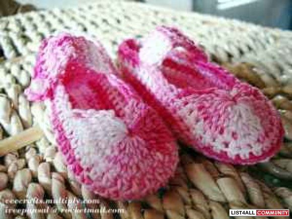 Infant Shoes - Hand Made *My Crafts*
